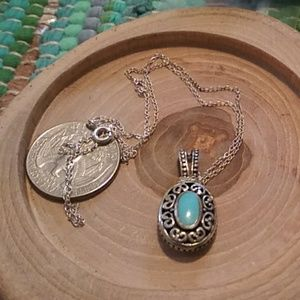 Native Anerican turquoise pendant
